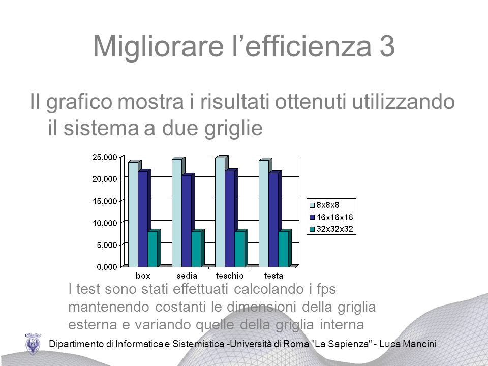 Migliorare l'efficienza 3