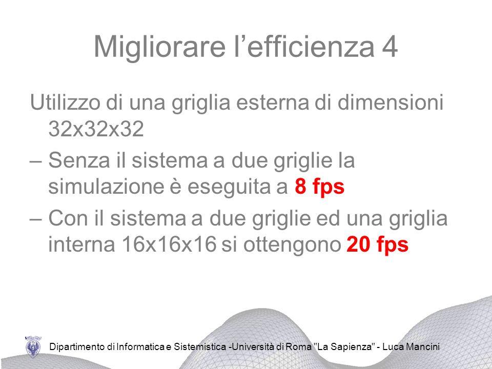 Migliorare l'efficienza 4