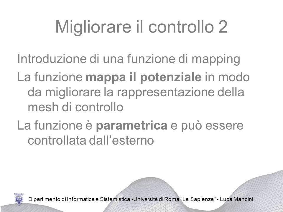 Migliorare il controllo 2