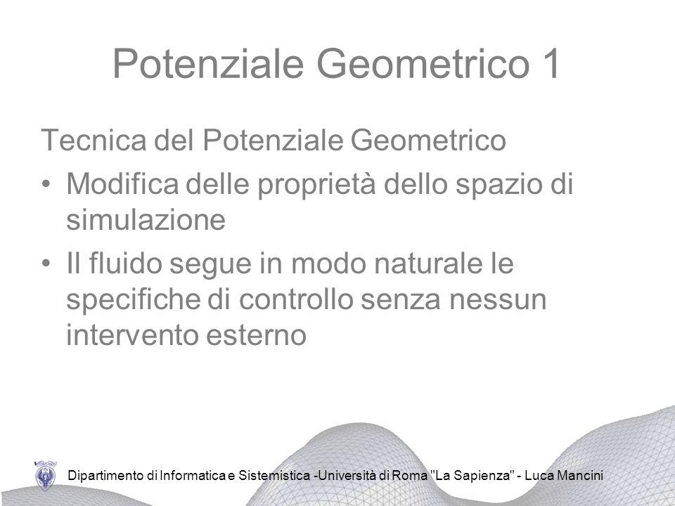 Potenziale Geometrico 1