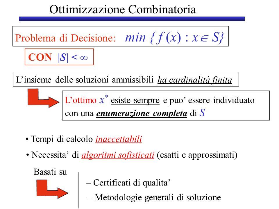 Ottimizzazione Combinatoria