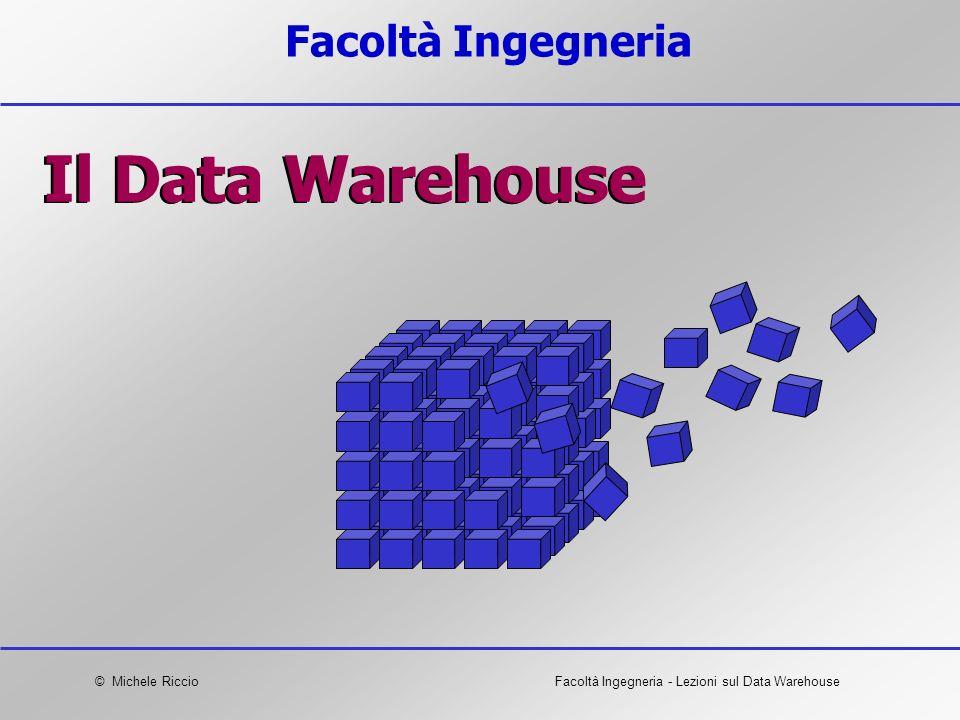 Facoltà Ingegneria Il Data Warehouse