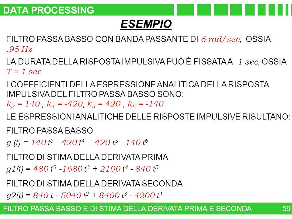 ESEMPIO DATA PROCESSING