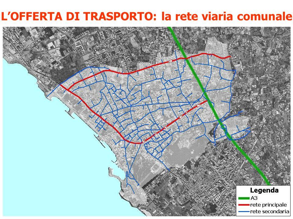L'OFFERTA DI TRASPORTO: la rete viaria comunale