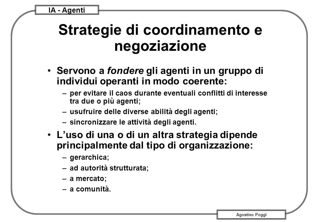 Strategie di coordinamento e negoziazione