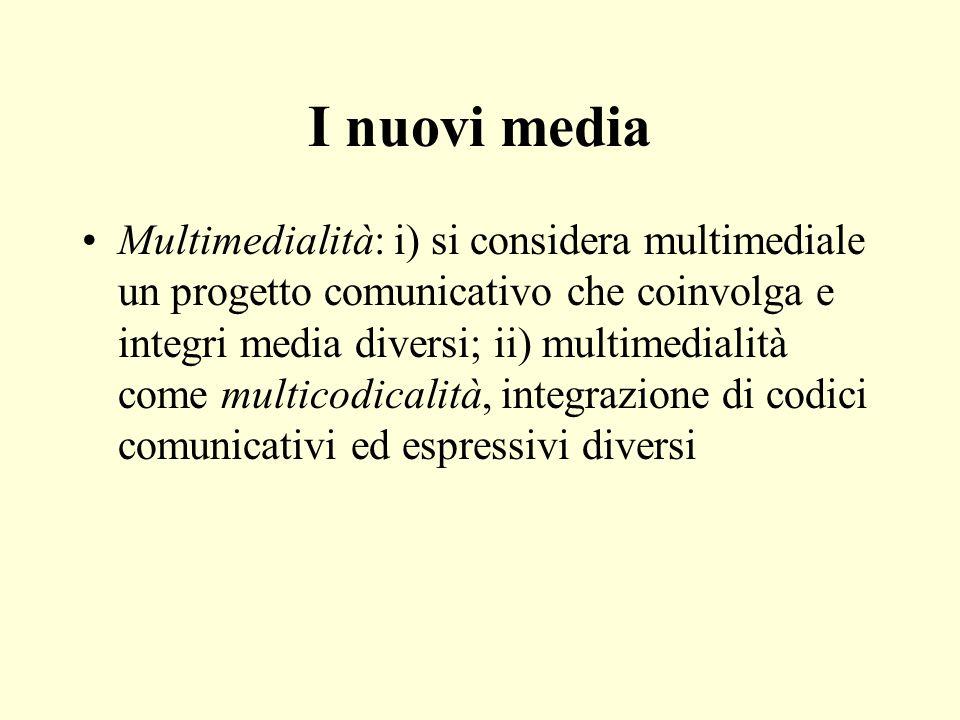I nuovi media