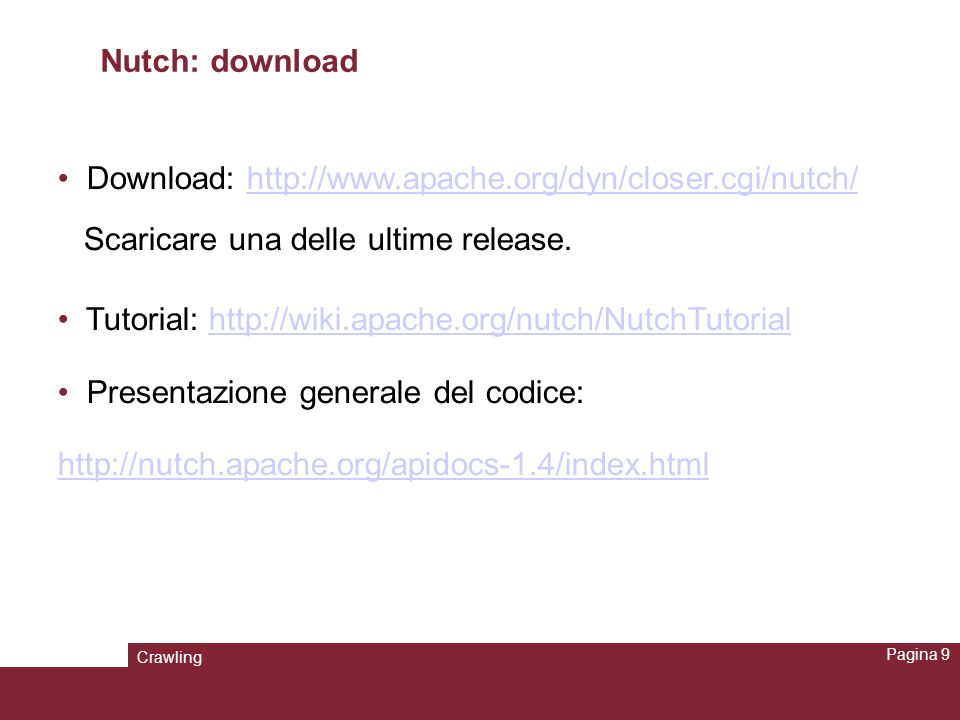 Download: http://www.apache.org/dyn/closer.cgi/nutch/