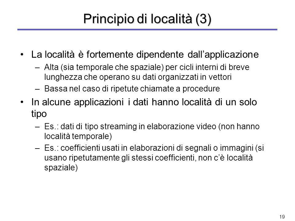 Principio di località (3)