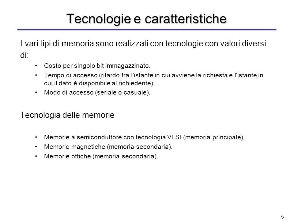 Tecnologie e caratteristiche