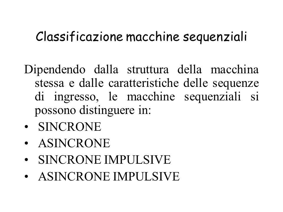 Classificazione macchine sequenziali