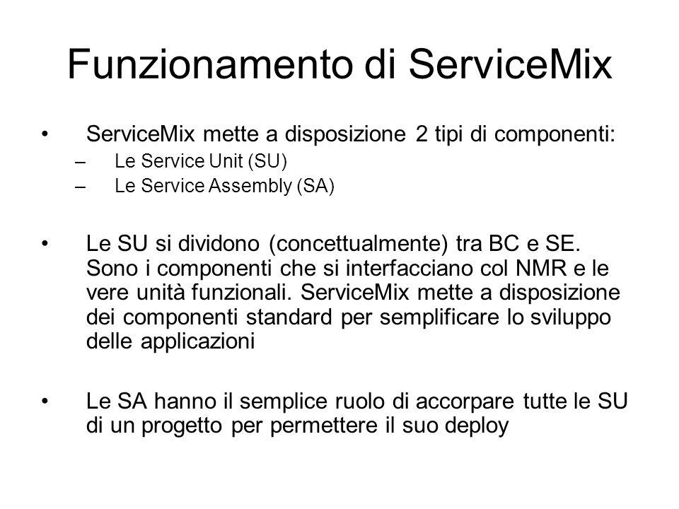 Funzionamento di ServiceMix