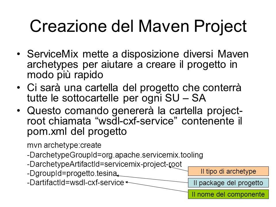 Creazione del Maven Project