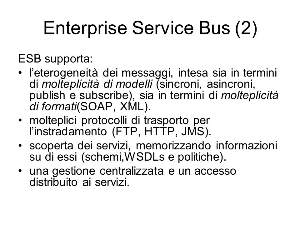 Enterprise Service Bus (2)
