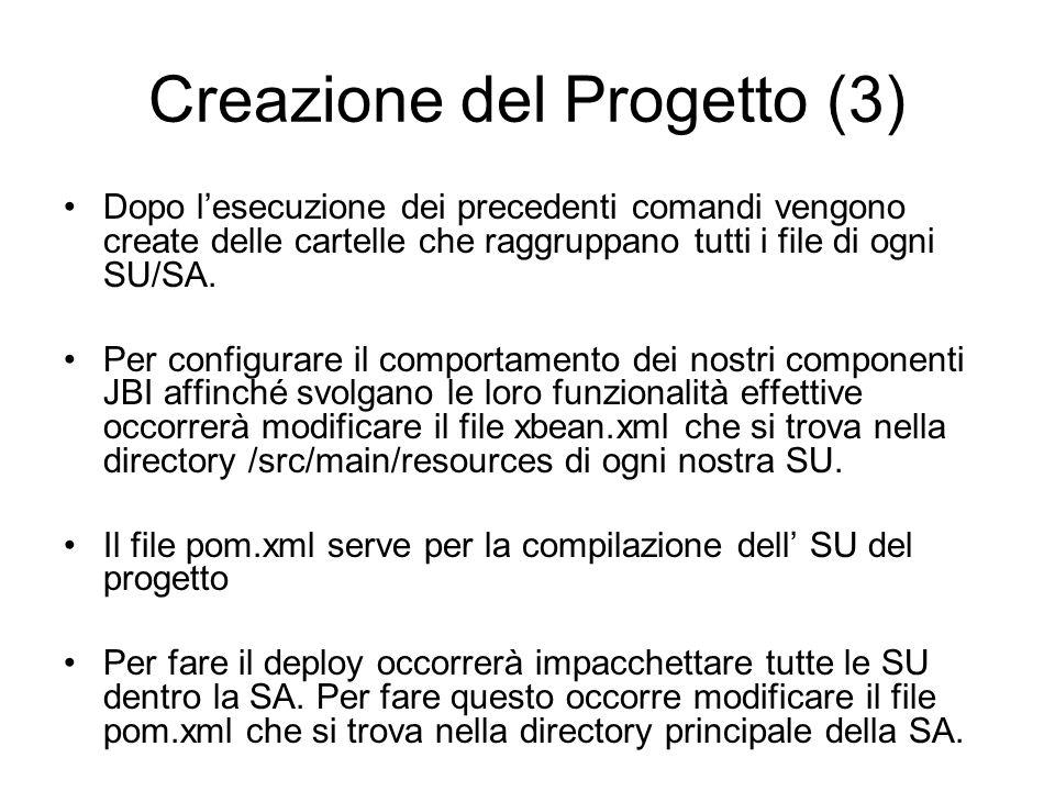 Creazione del Progetto (3)