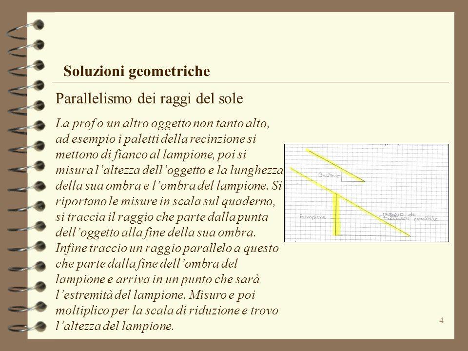 Soluzioni geometriche