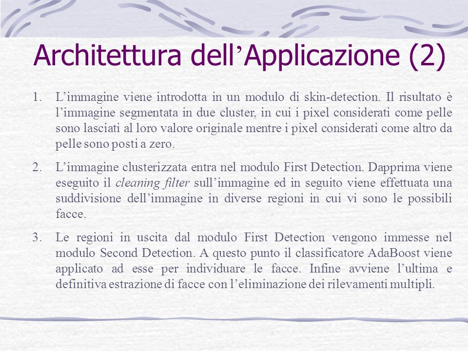 Architettura dell'Applicazione (2)
