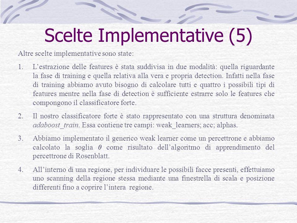 Scelte Implementative (5)