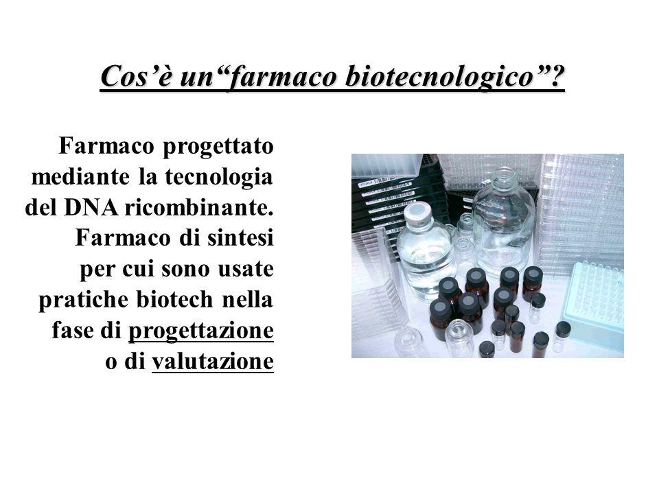 Cos'è un farmaco biotecnologico