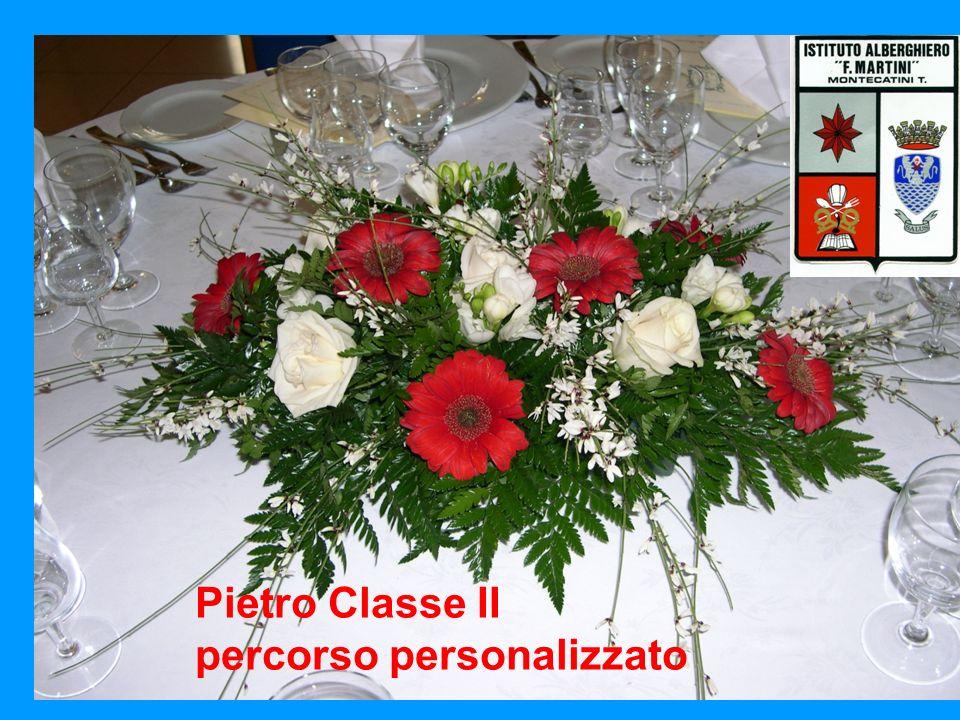 Pietro Classe II percorso B Pietro Classe II percorso personalizzato
