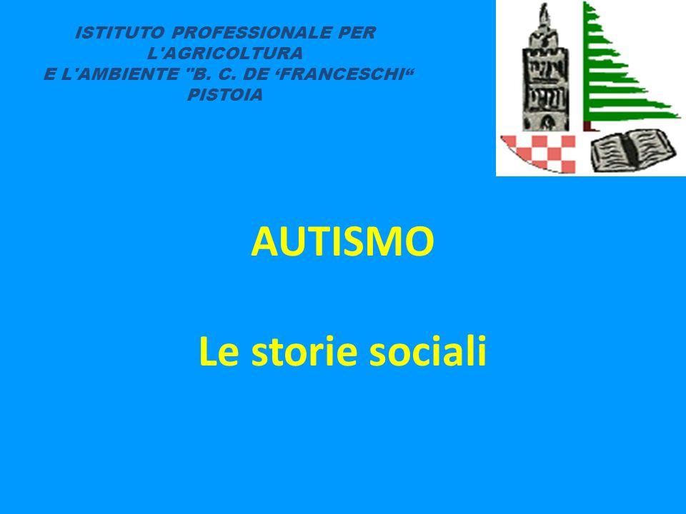 AUTISMO Le storie sociali