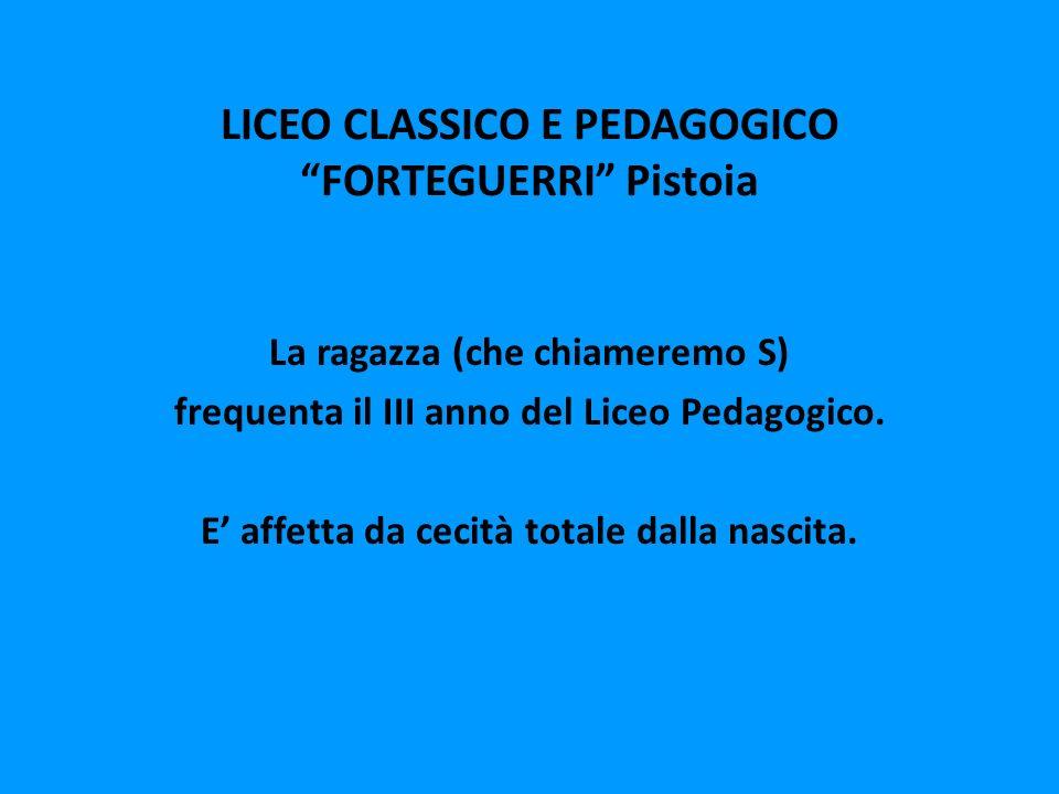 LICEO CLASSICO E PEDAGOGICO FORTEGUERRI Pistoia