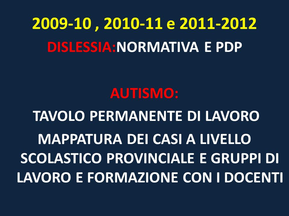 2009-10 , 2010-11 e 2011-2012