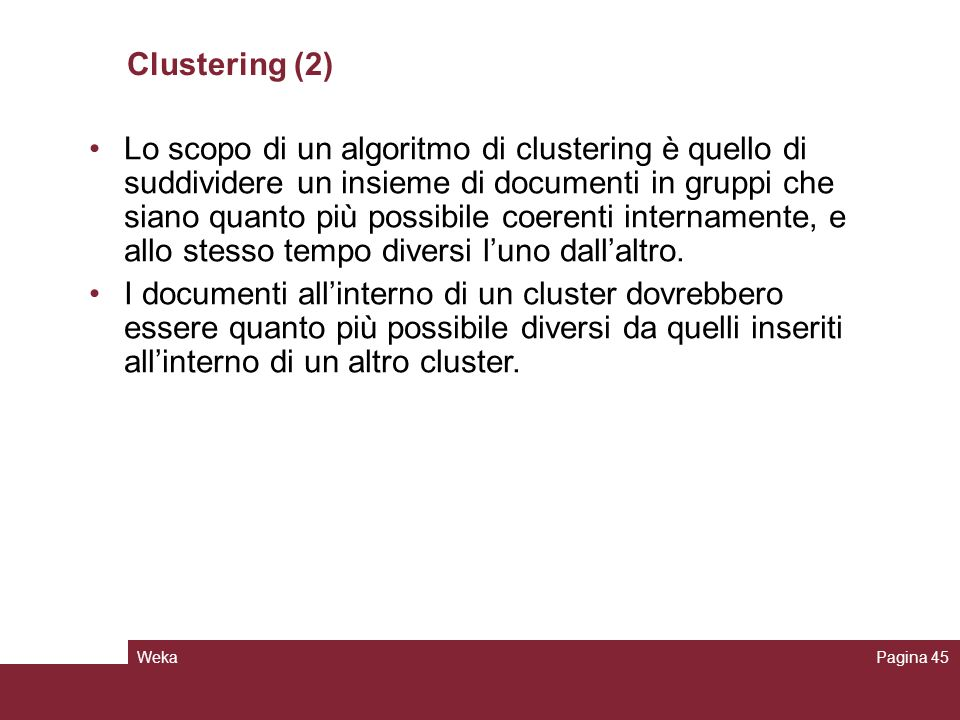 Clustering (2)