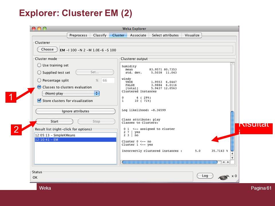 Explorer: Clusterer EM (2)