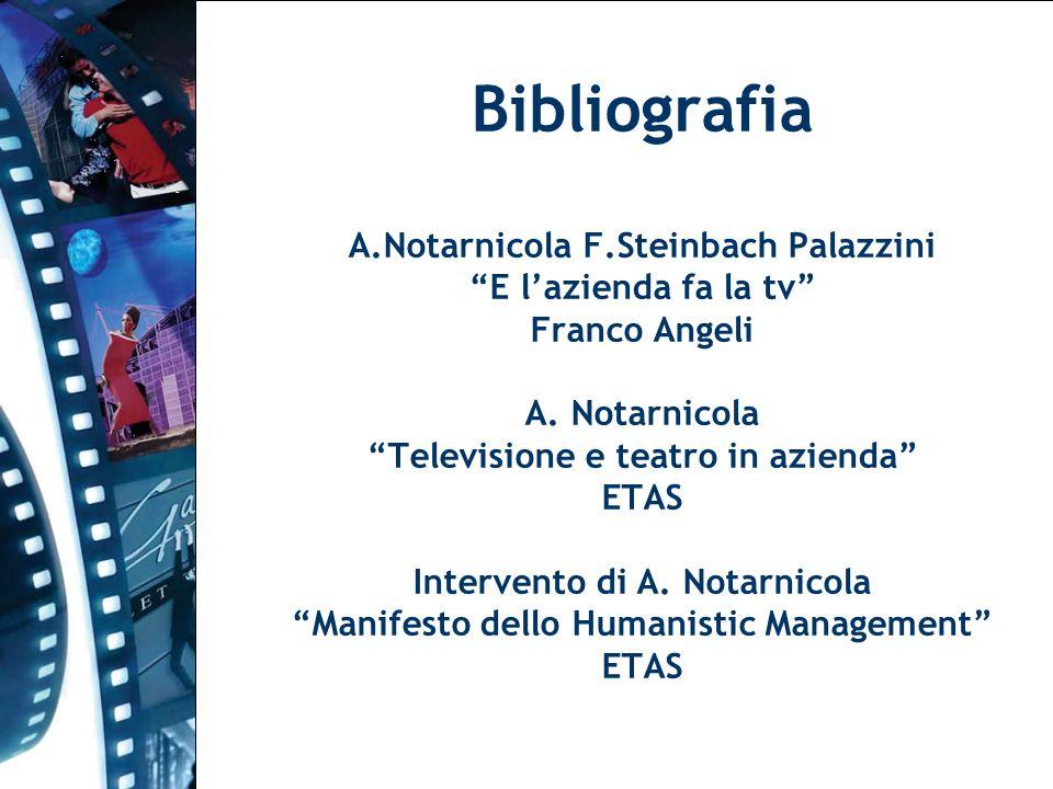 Bibliografia A. Notarnicola F