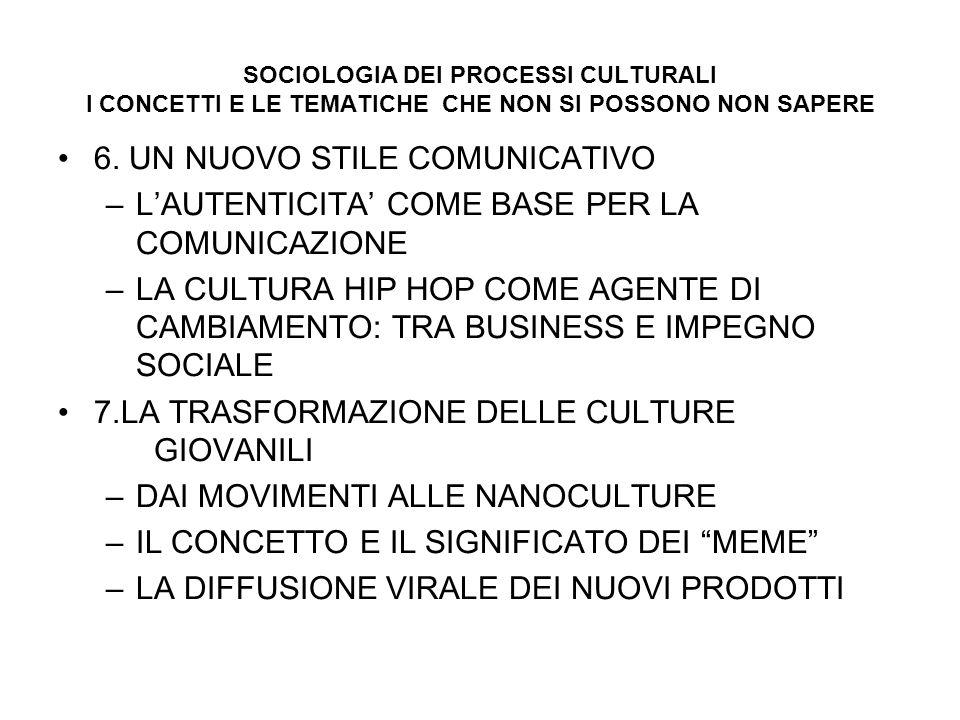 6. UN NUOVO STILE COMUNICATIVO