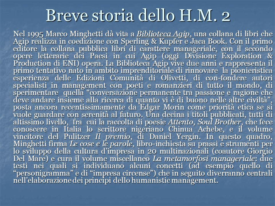 Breve storia dello H.M. 2