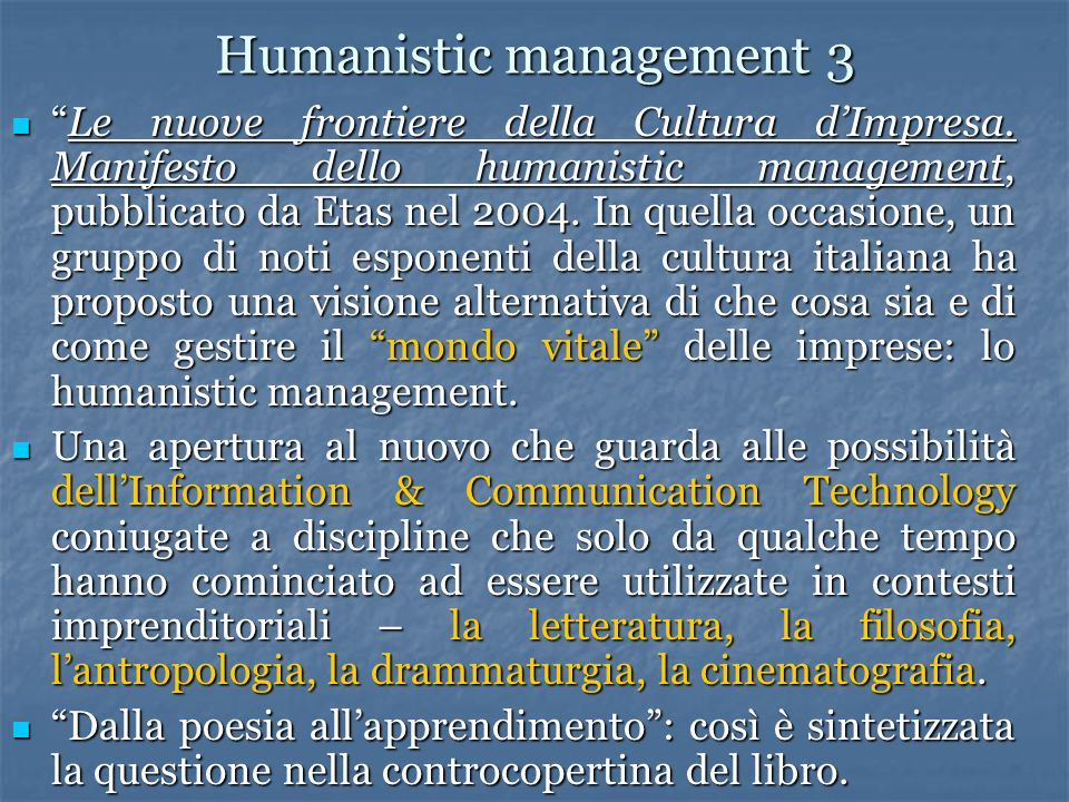 Humanistic management 3