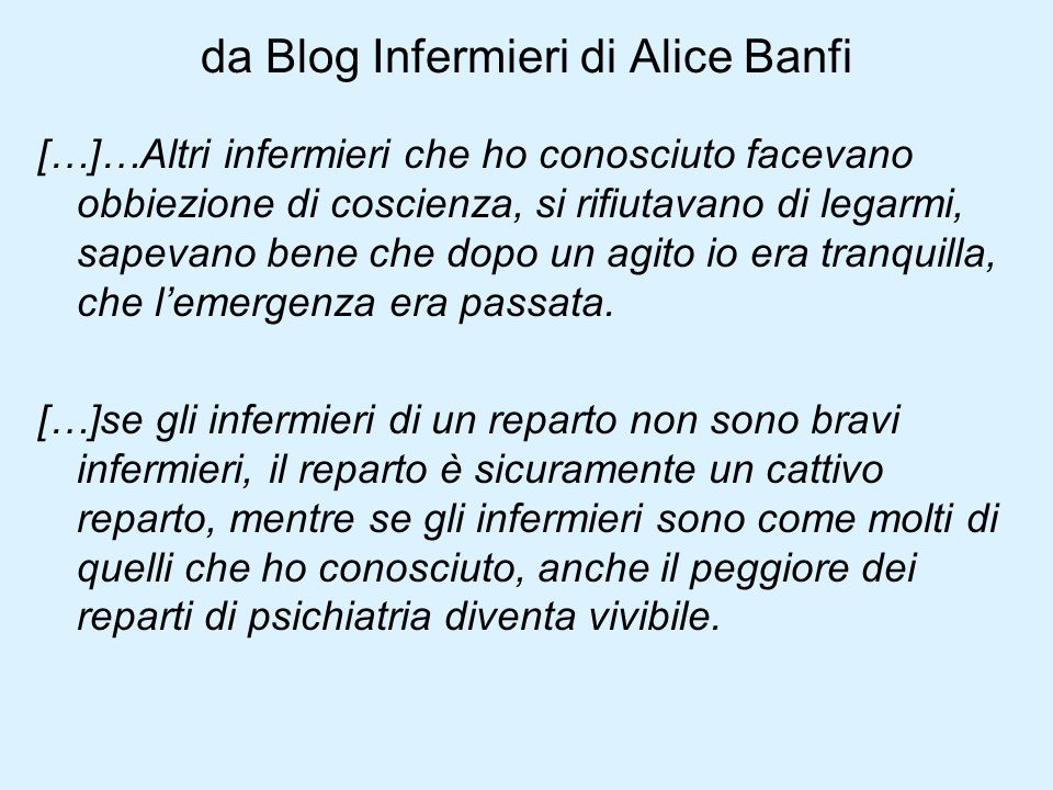 da Blog Infermieri di Alice Banfi