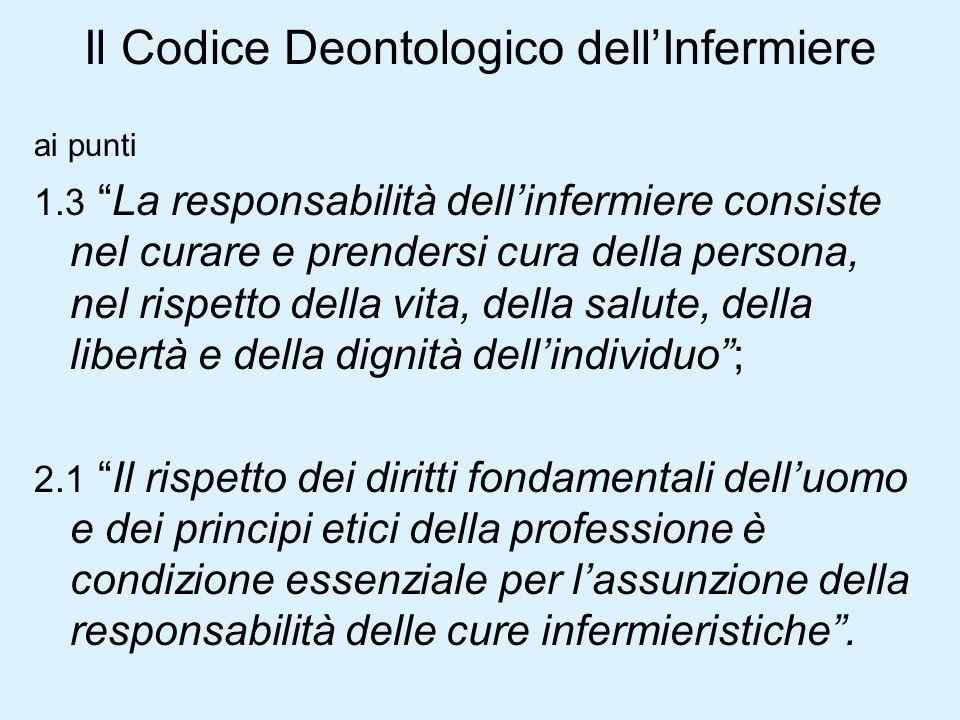 Il Codice Deontologico dell'Infermiere