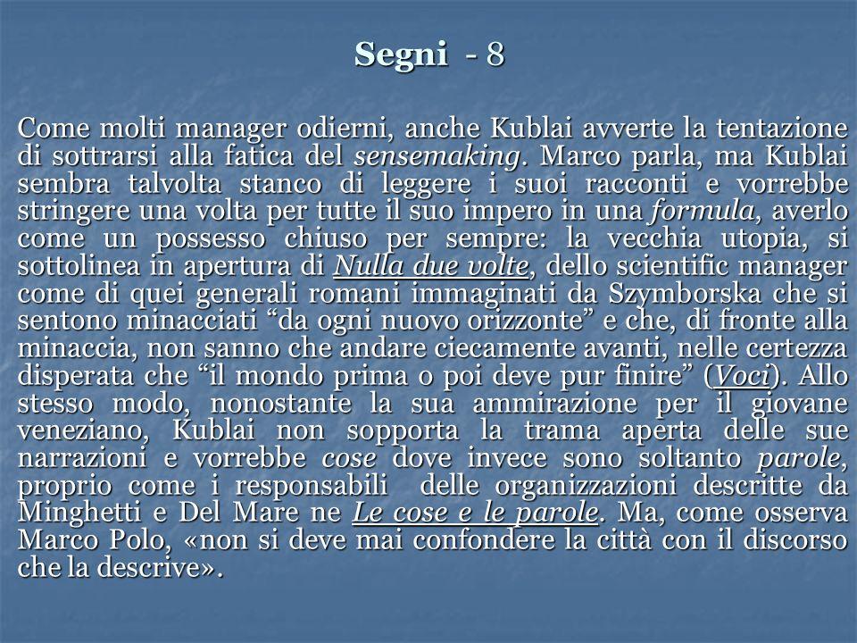 Segni - 8