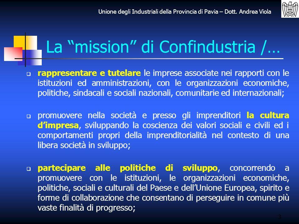 La mission di Confindustria /…