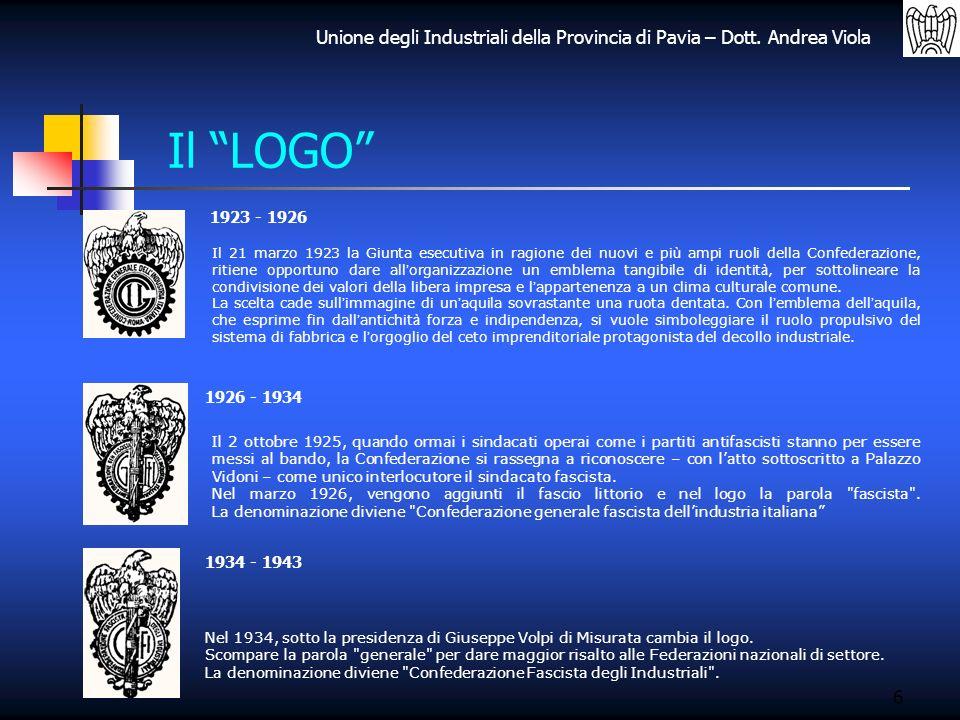 Il LOGO 1923 - 1926.