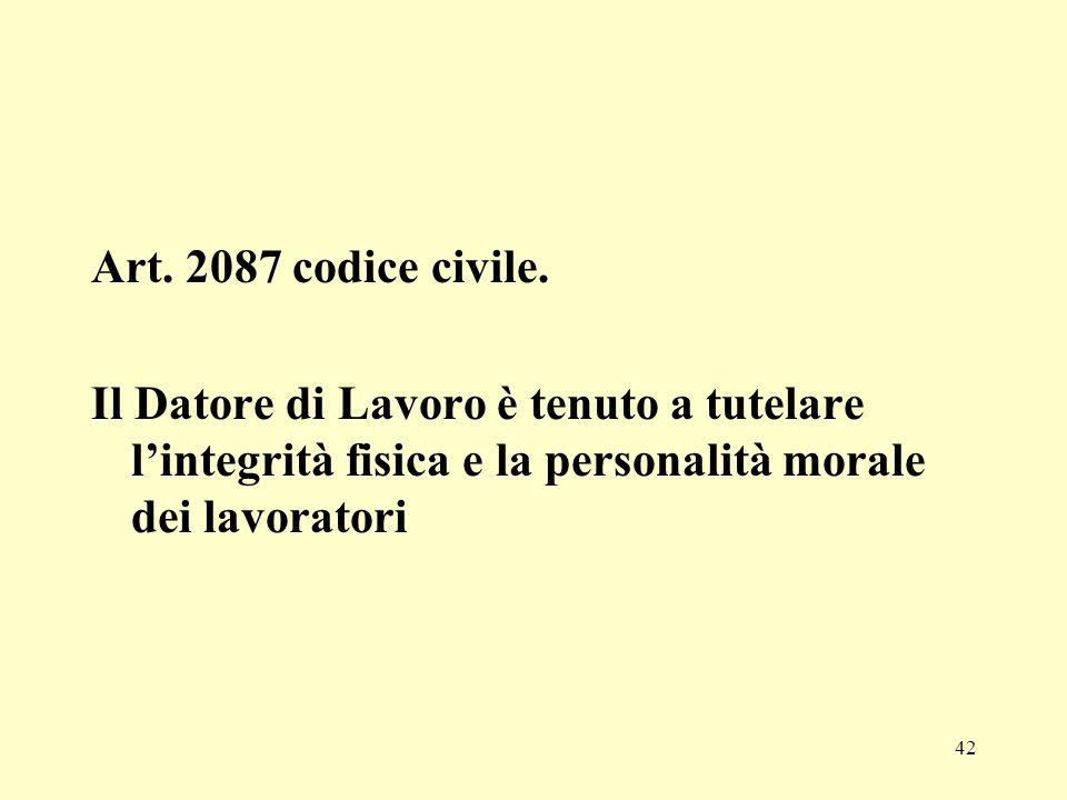 Art. 2087 codice civile.
