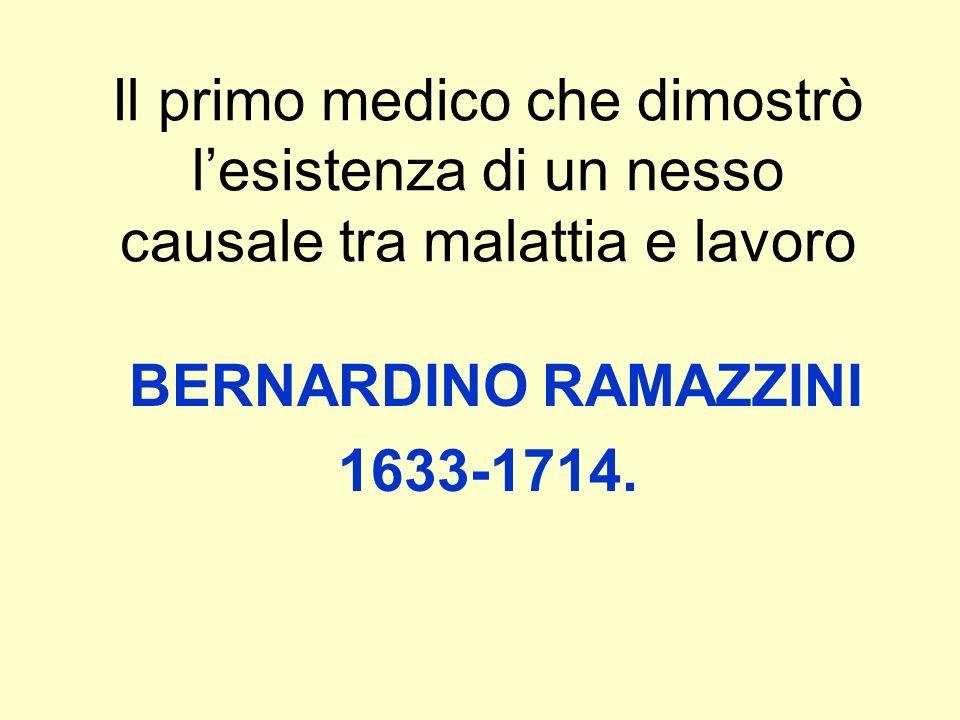 BERNARDINO RAMAZZINI 1633-1714.
