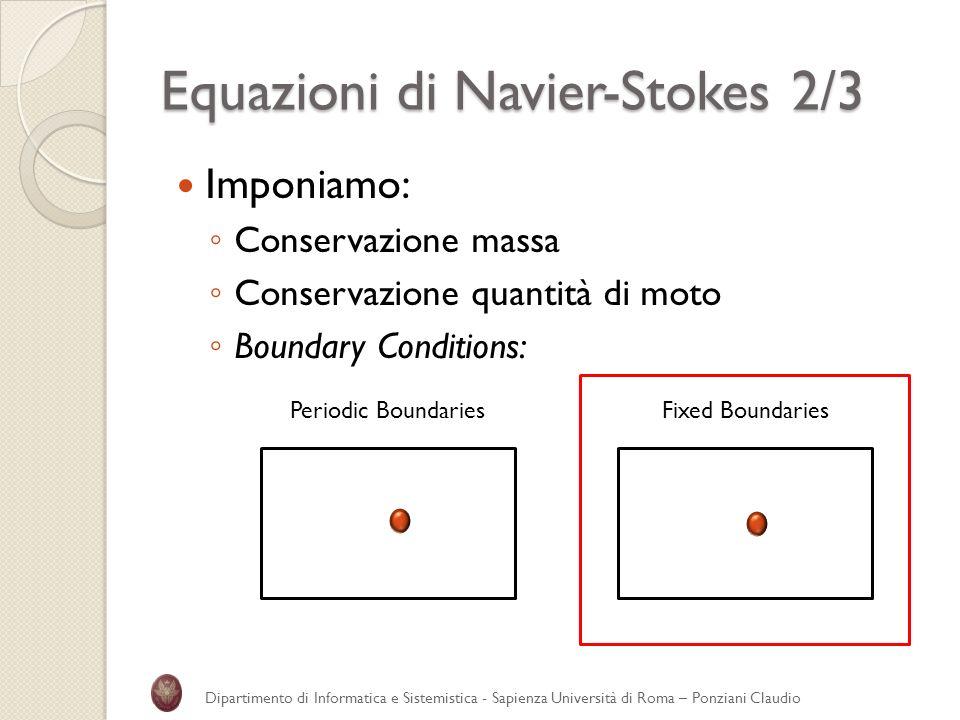 Equazioni di Navier-Stokes 2/3