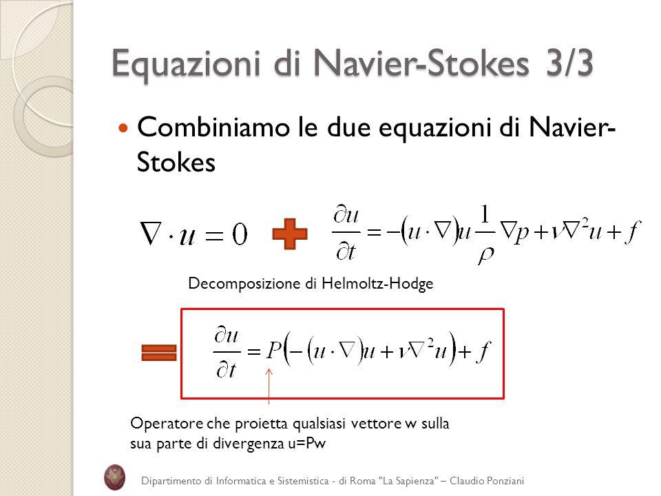 Equazioni di Navier-Stokes 3/3