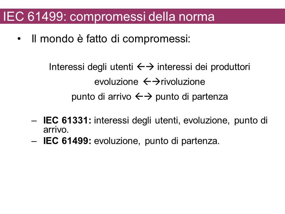 IEC 61499: compromessi della norma