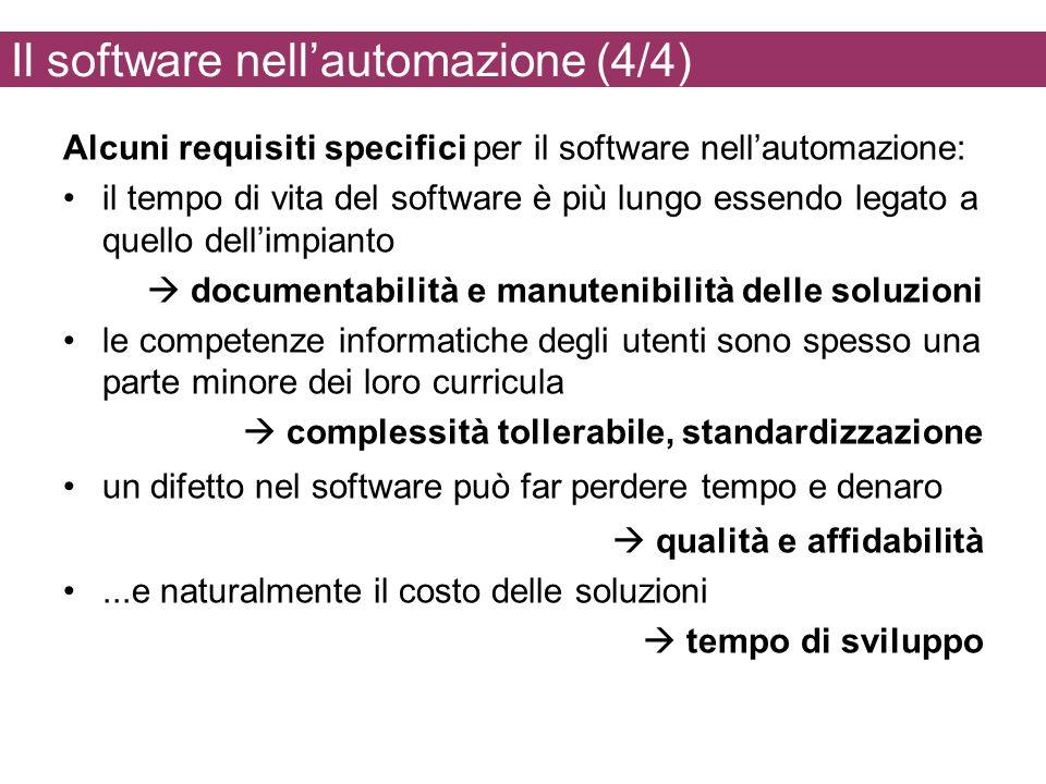 Il software nell'automazione (4/4)