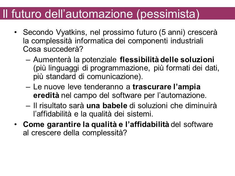 Il futuro dell'automazione (pessimista)