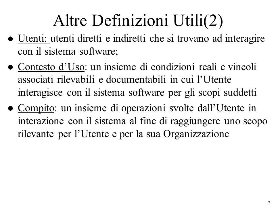 Altre Definizioni Utili(2)