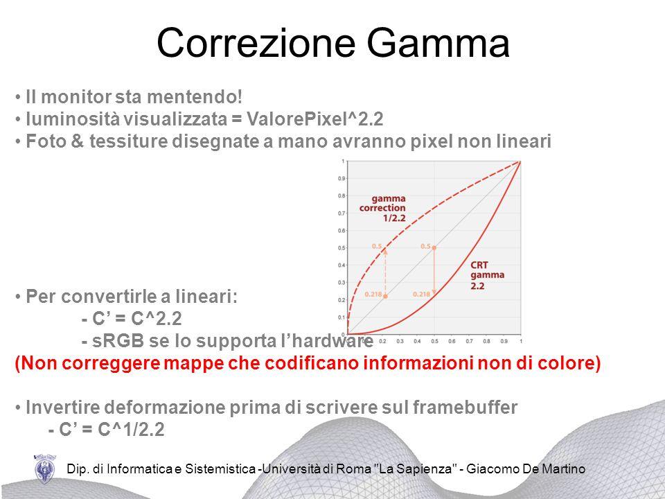 Correzione Gamma Il monitor sta mentendo!