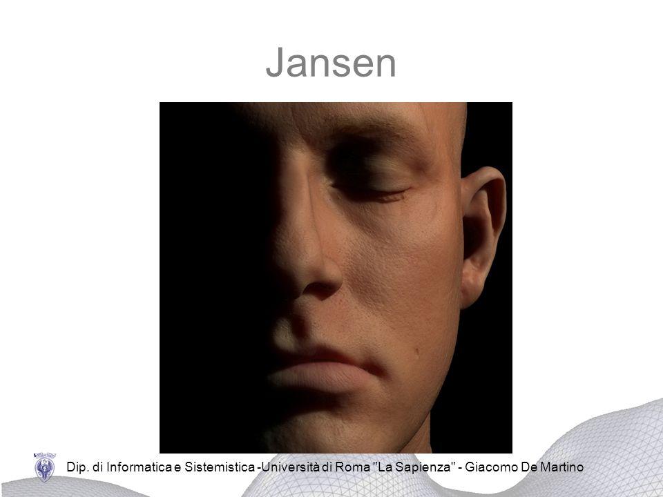 Jansen Dip. di Informatica e Sistemistica -Università di Roma La Sapienza - Giacomo De Martino