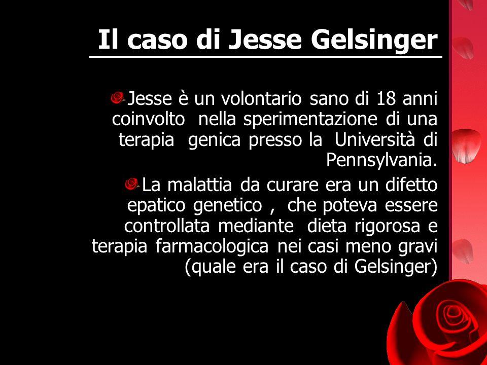 Il caso di Jesse Gelsinger
