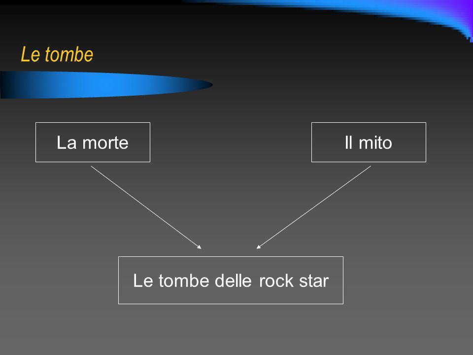 Le tombe delle rock star