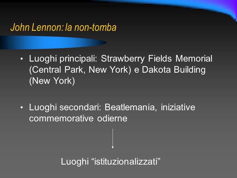 John Lennon: la non-tomba